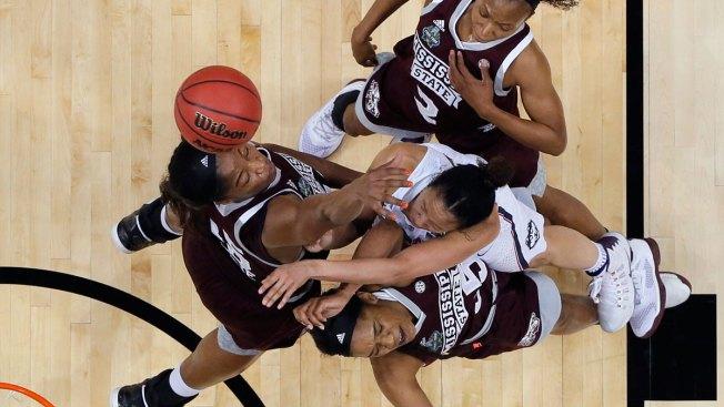 Mississippi State Stuns UConn With Upset in OT