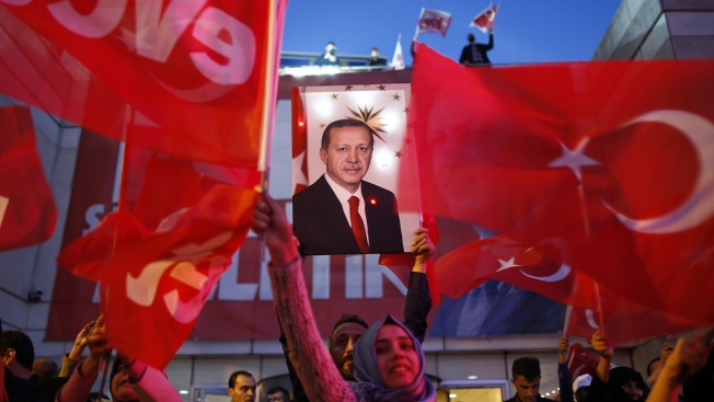 Turkey's President Claims Victory in Vote to Consolidate His Power; Critics Cry Fraud