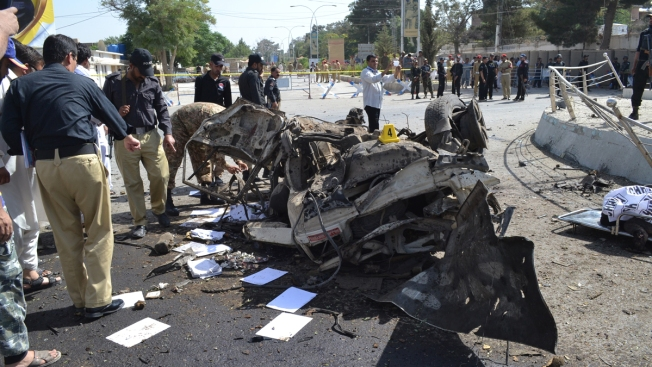 Death toll in Pakistan attacks climbs to 56""
