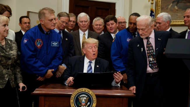 Trump Revives National Space Council, To Be Led by Pence