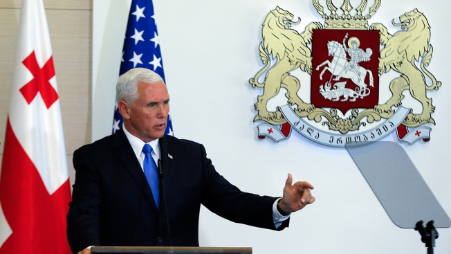 Pence Pledges Support for Georgia, Condemns Russian Moves