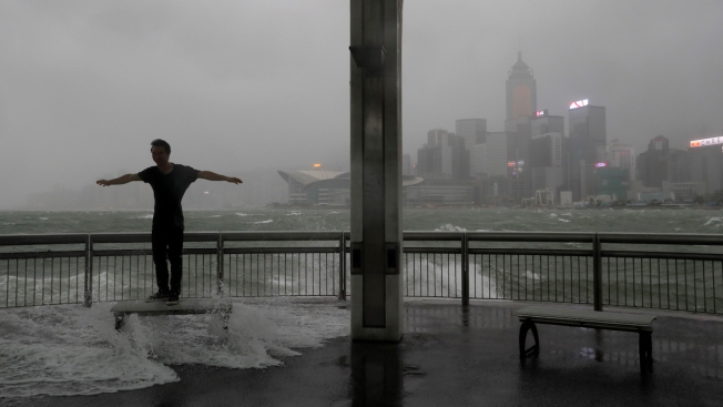 12 dead as Typhoon Hato lashes Macau, southern China