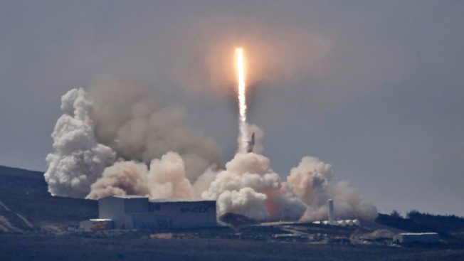 SpaceX Plans Launch Today From Vandenberg