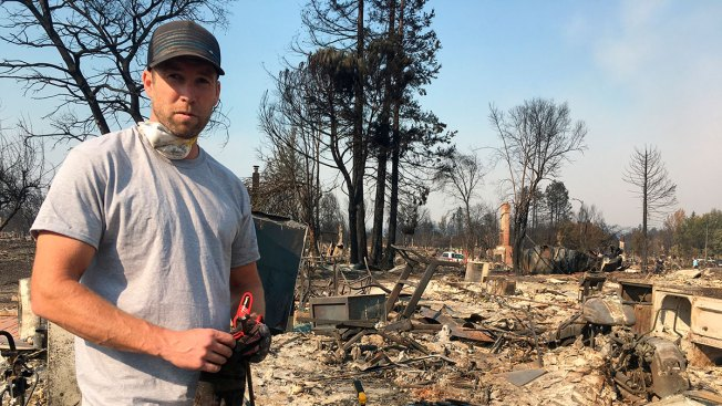Santa Rosa Fire Survivor Gnawed By Regret Over Elderly Neighbors Who Perished