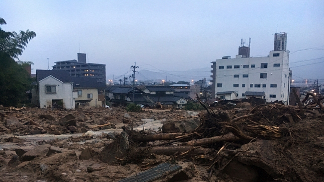 81 People Killed in Torrential Rains, Landslides in Western Japan