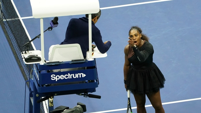 Serena Williams Fined Total of $17K at US Open