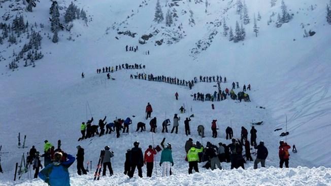[NATL] Top News Photos: Avalanche Injures 2 at New Mexico Ski Resort