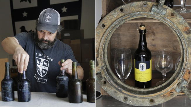 Taste of History: Yeast From 1886 Shipwreck Makes New Ale