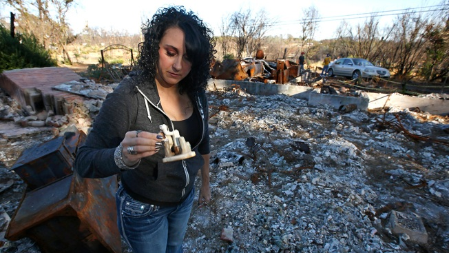 California City Didn't Burn But Fire Brought New Way of Life