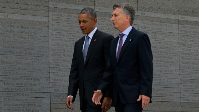 Obama: US Slow to Speak Out for Human Rights in Argentina