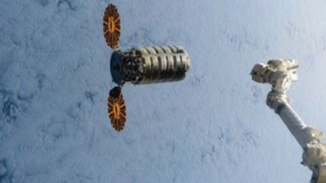 Easter Delivery: Cargo Ship Arrives at the International Space Station