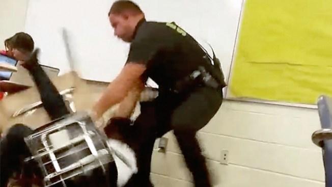 Does Response to S.C. School Cop Video Show Law Enforcement Rift?