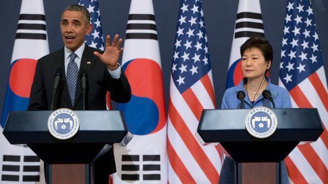North Korea to Top Agenda as Obama Meets South Korean Leader