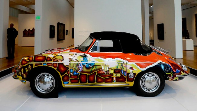 Janis Joplin's Vintage Porsche Could Sell for $500,000