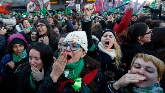 Argentine Congress OKs Elective Abortion, Heads to Senate