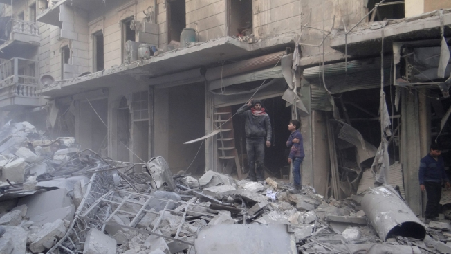 Activists Report Airstrikes in Northern Syria Amid 'Cease-Fire'