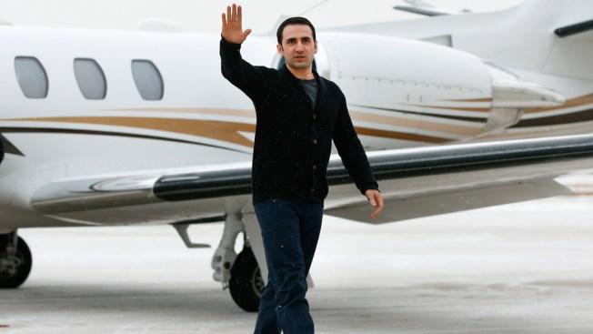 U.S. Marine Freed by Iran Arrives Home in Michigan