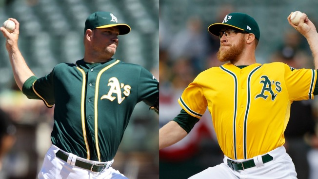 Sean Doolittle, Ryan Madson Traded to Nationals for Blake Treinen, Prospects