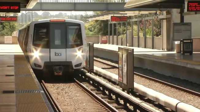 New Bart Train Picks Up First Passengers