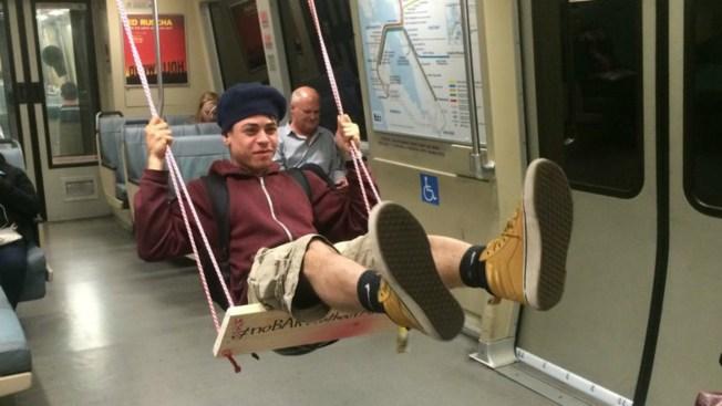 'BARTist's' Artwork Sheds Smiles During Commute