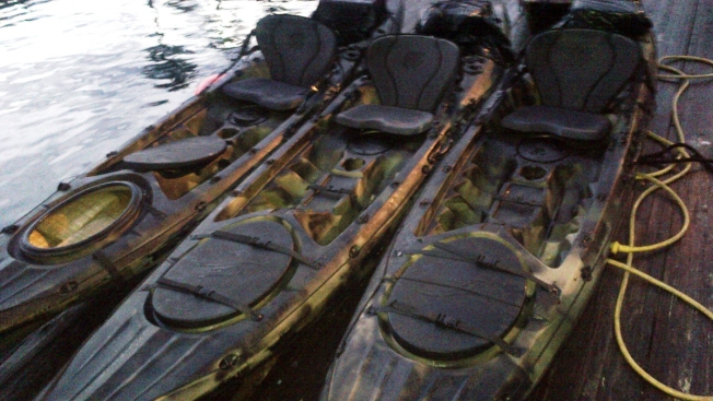 Agents Nab Kayaks Loaded with Marijuana