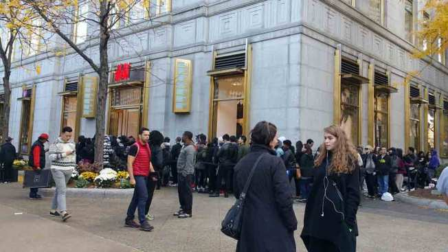 H&M's Balmain X Clothes Spark Shopping Frenzy