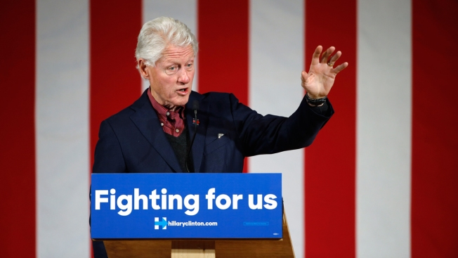 Bill Clinton to Appear at Two Bay Area Fundraisers for Hillary Clinton
