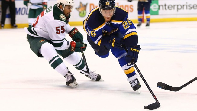 2015 NHL Playoffs: Wild Beat Blues 4-1, to Take 3-2 Series Lead