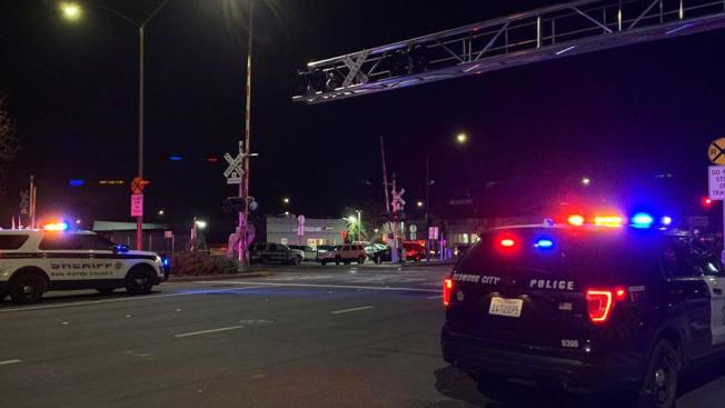 Caltrain Fatally Strikes a Person on Redwood City Tracks ...