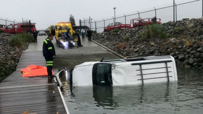 Police Investigate 'Unexplained' Death After Man's Vehicle Crashes Into East Bay Estuary
