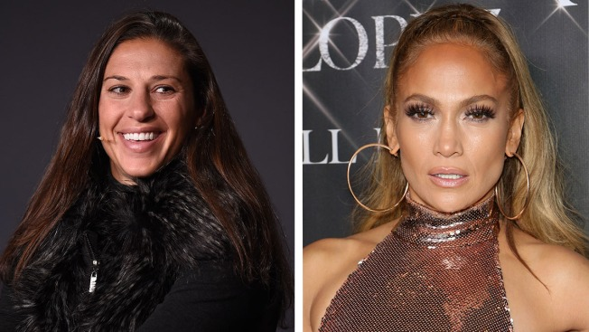 Soccer Player Carli Lloyd Celebrates World Cup Win With Dance From J. Lo