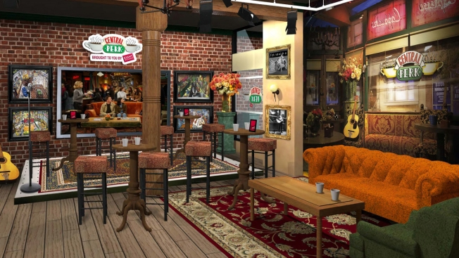 "Central Perk Pop-Up to Open in NYC in Honor of 20th Anniversary of ""Friends"""