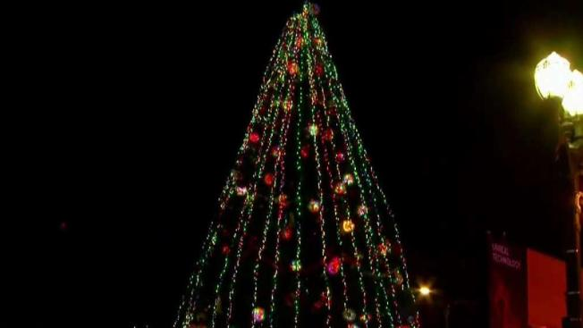 2018 Christmas In The Park Tree Lighting Nbc Bay Area