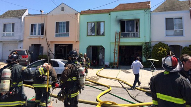 13 Displaced, Three Hurt by House Fire in San Francisco's Sunset District