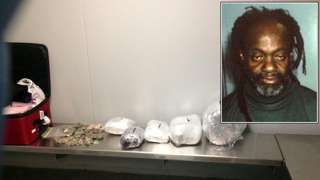 Man Busted With 18 Pounds of Pot at New York Airport: Police