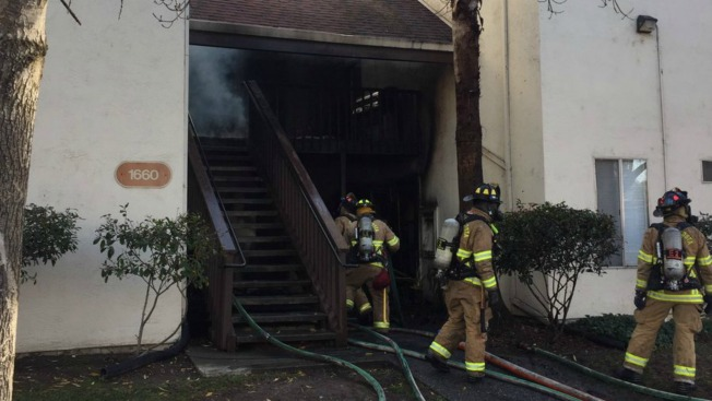 Two Residents Rescued from Concord Apartment Complex Fire