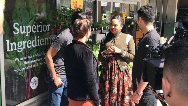 Ayesha Curry, Mayor Boost Urban Farming to Oakland Students