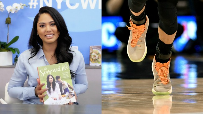 Steph Curry Rocks Special Under Armour Shoes in Honor of Wife Ayesha, Mother's Day