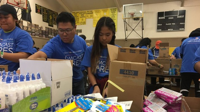 Bringing Care to the Bay Area Community: Comcast Cares Day 2019