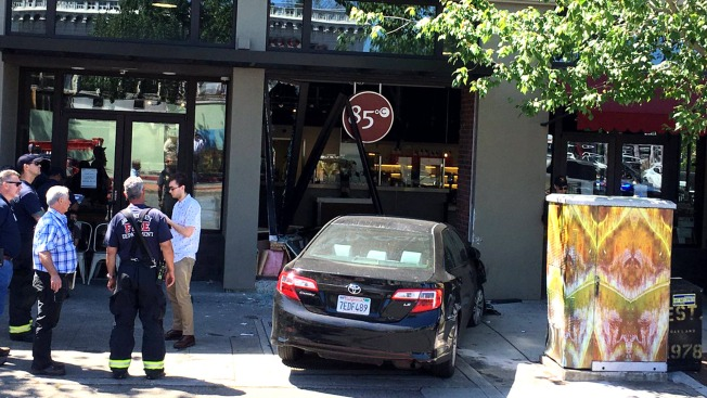 No Injuries Reported When Car Crashes Into 85°C Bakery Cafe in Berkeley