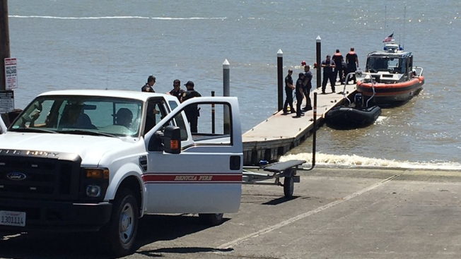 Man Rescued After Driving Off Boat, Into Carquinez Strait in Benicia
