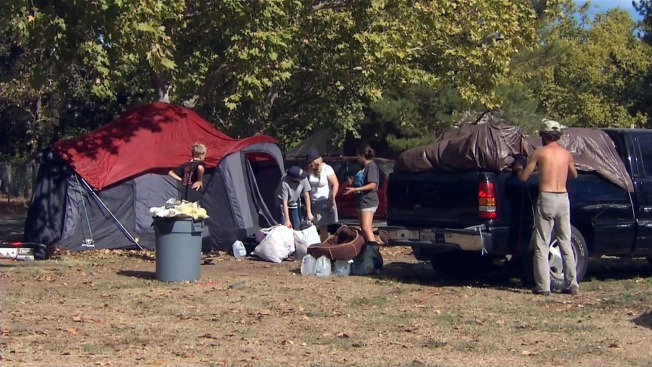 Lake County Campground Closure Displaces Valley Fire Victims
