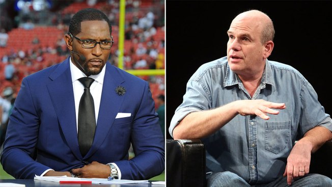 """""""The Wire"""" Creator David Simon, Ravens Linebacker Ray Lewis Call for End to Violence in Baltimore"""