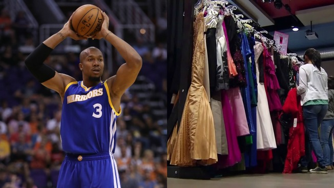 Wife of Warriors Player David West Donates 1,000 Prom Dresses to Bay Area Students