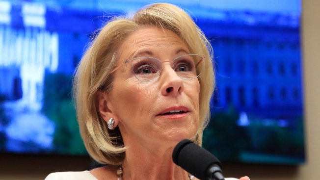 Feds: DeVos Used Personal Emails for Work in 'Limited' Cases