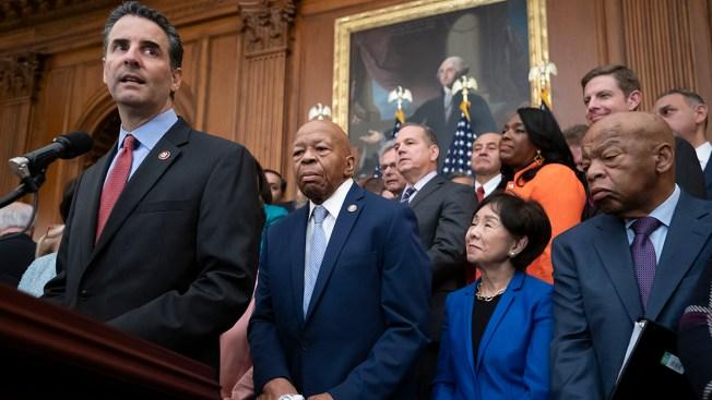 Democrats Flex Power by Taking Aim at Money in Politics