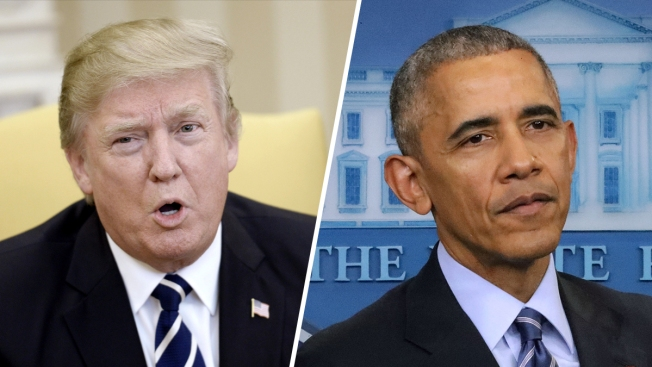 Trump says Obama 'weakness' allowed 'heinous' chemical attack by Assad