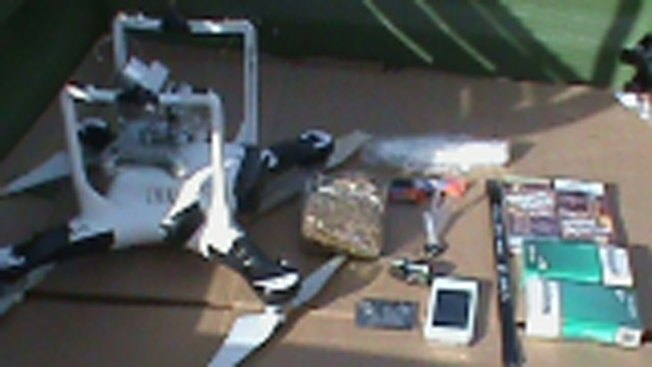 Drone Carrying Drugs and Blades Found in Oklahoma Prison Yard