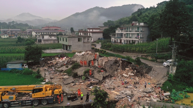 Rescue Efforts Underway After China Quake Kills at Least 12