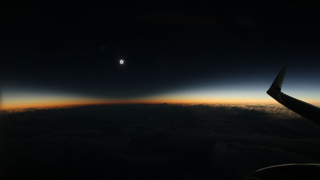 Skygazers Catch Flight for Prime View of Total Solar Eclipse